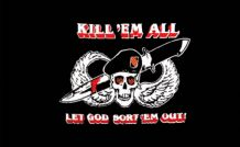 KILL EM ALL - 5 X 3 FLAG